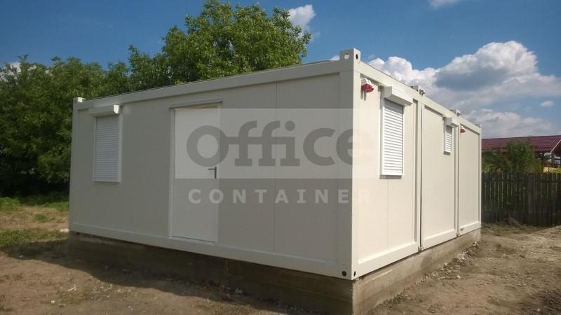 Casa din trei containere Brezoaiele