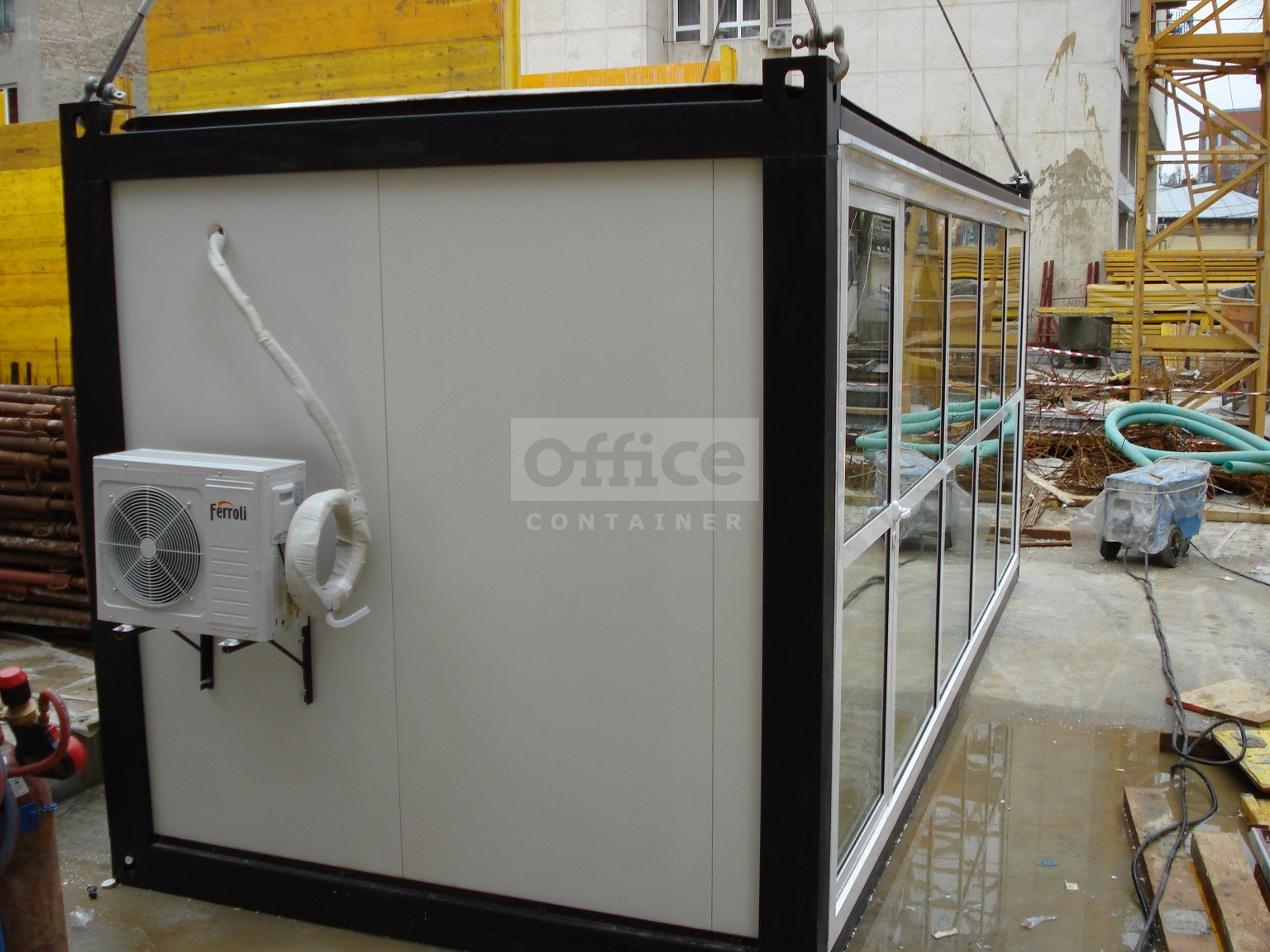 Container Showroom 20 ft Bucuresti