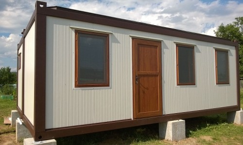 Casa containere 2 x 7500 x 2438 mm