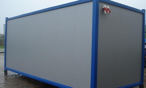 Container dormitor pentru organizare santier Port Trans SRL